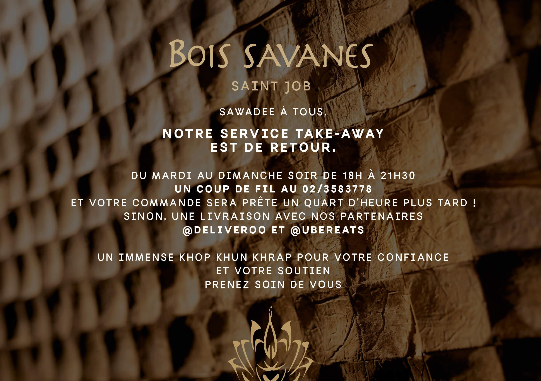 Bois Savanes - POPUP